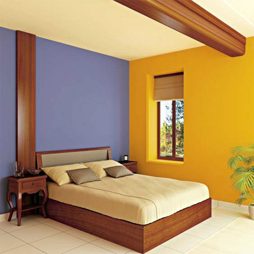 Baños Amarillos Con Azul:Bedroom Wall Paint Color Combinations