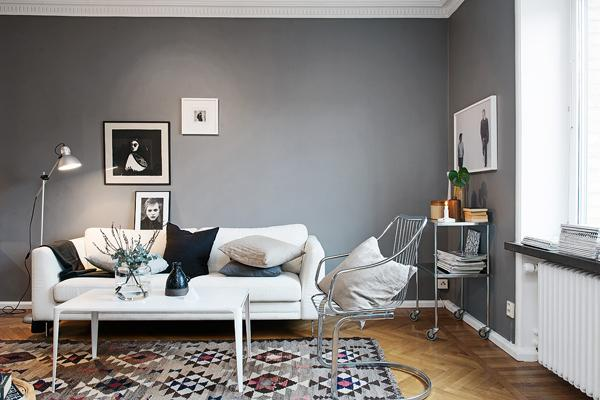 decoracion en color gris