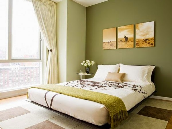 dormitorio-pared-verde-600x453