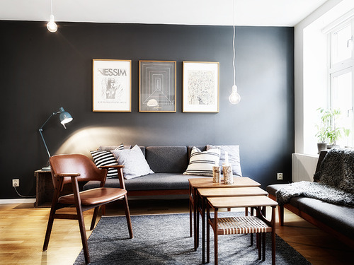 living-room-with-dark-walls