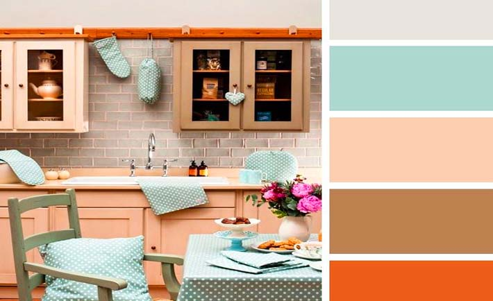 10 combinaciones de color para tu cocina blog paqsa for Decoracion colores 2016