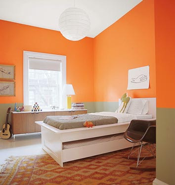 decoracion color naranja 2