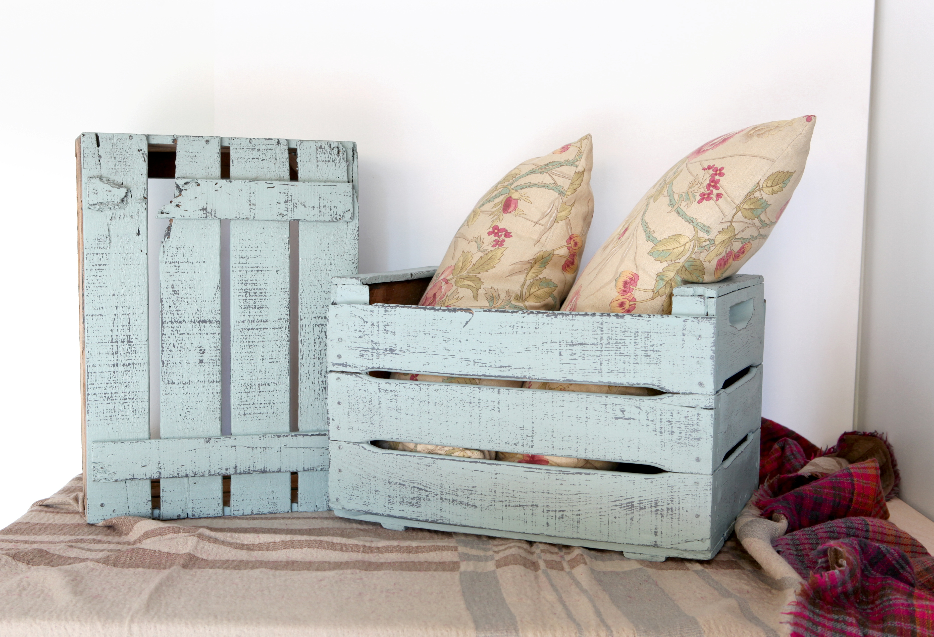 muebles madera shabby vintage 1